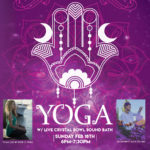 Yoga & Cystal Bowl Sound Healing Event