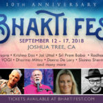 Bhaktifest | Sept 12th-18th | 2018